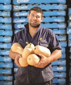 Aussie Pumpkin Farmer, Tony Calvi